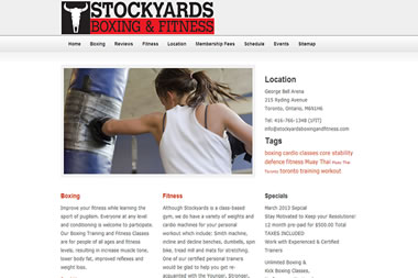 Stockyards Boxing
